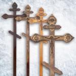 Крест сосна фигурный (состар.)