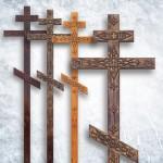 Крест прямой с (декором)